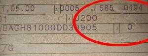 Typschluesselnummer bis 2005