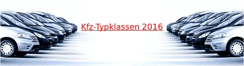 kfz Typklassen 2016