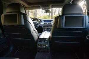 Fahrzeug Innenraum mit Sonderzubehör