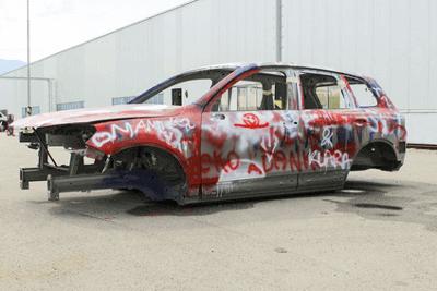 Vandalismus am Fahrzeug